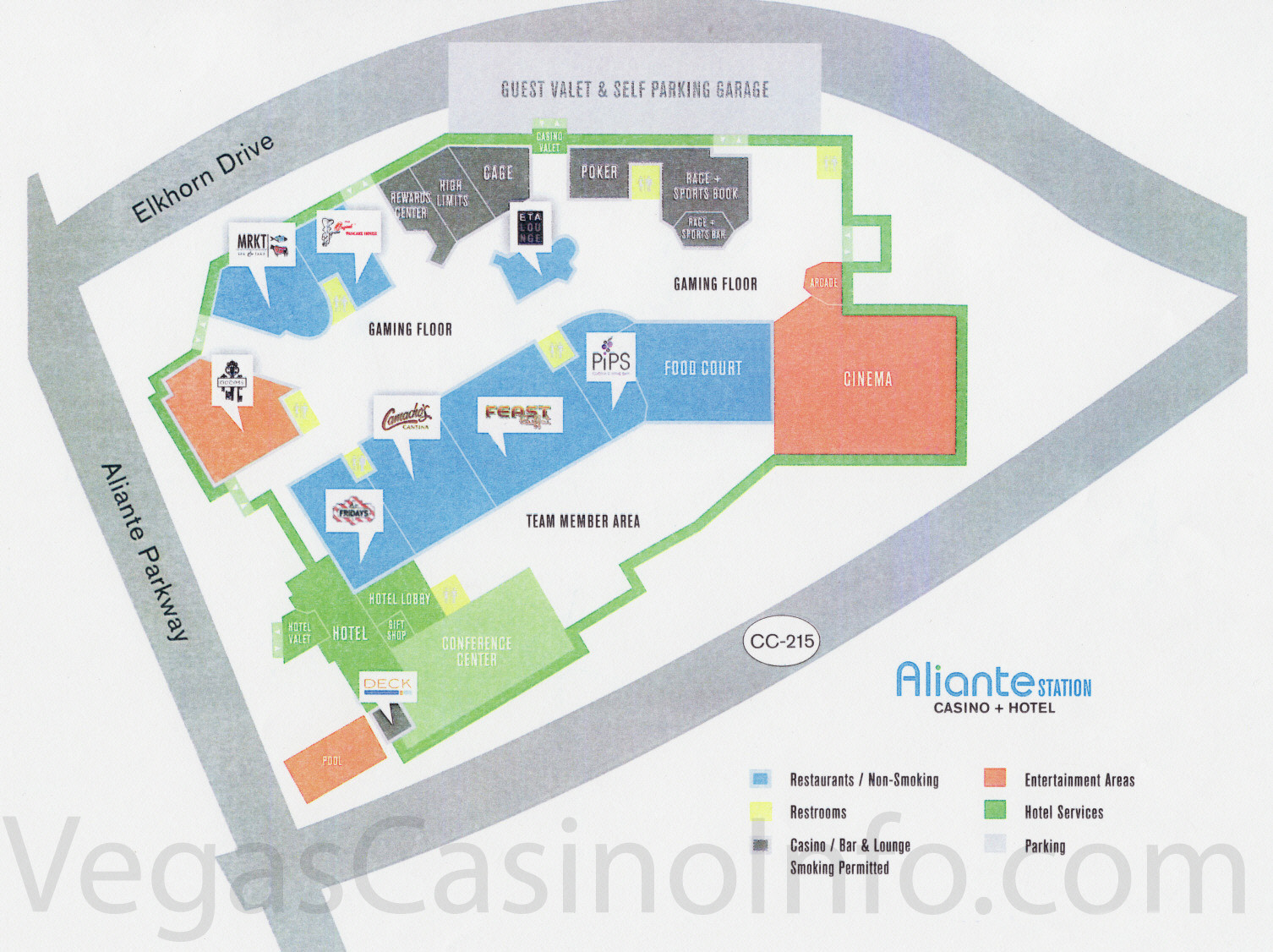 Aliante station casino map planet hollywood las vegas casino