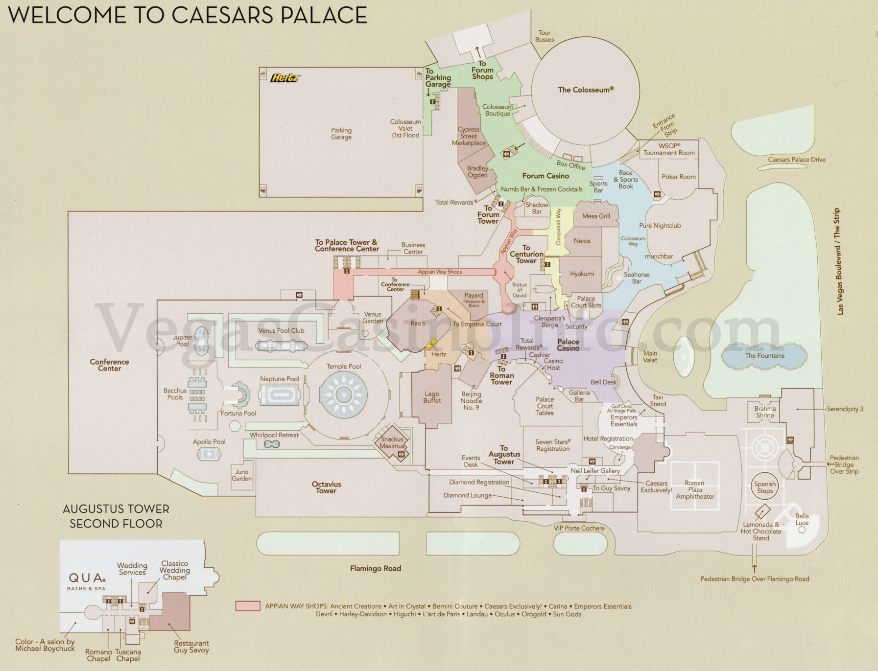 Las vegas casino property maps and floor plans vegascasinoinfo jpg pdf malvernweather Images