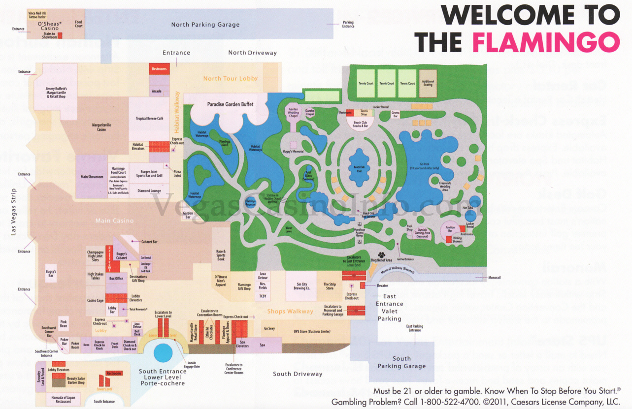 Miracle Mile Las Vegas Map.Las Vegas Casino Property Maps And Floor Plans Vegascasinoinfo Com