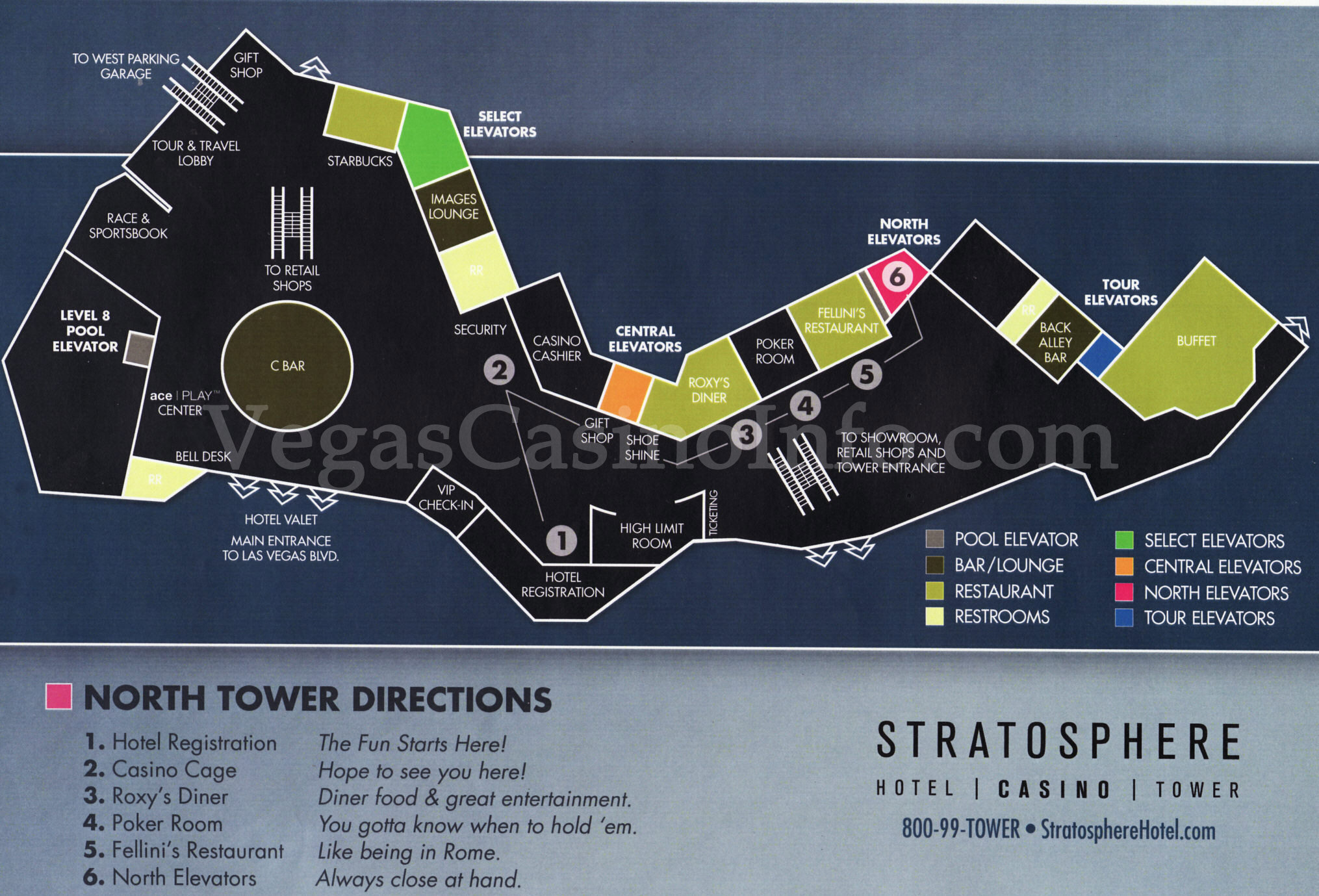 Us casino locations