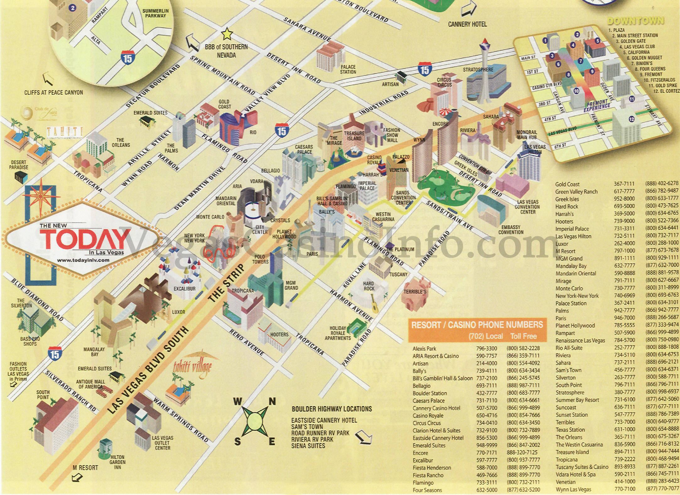 Las Vegas Street Map Pdf Submited Images