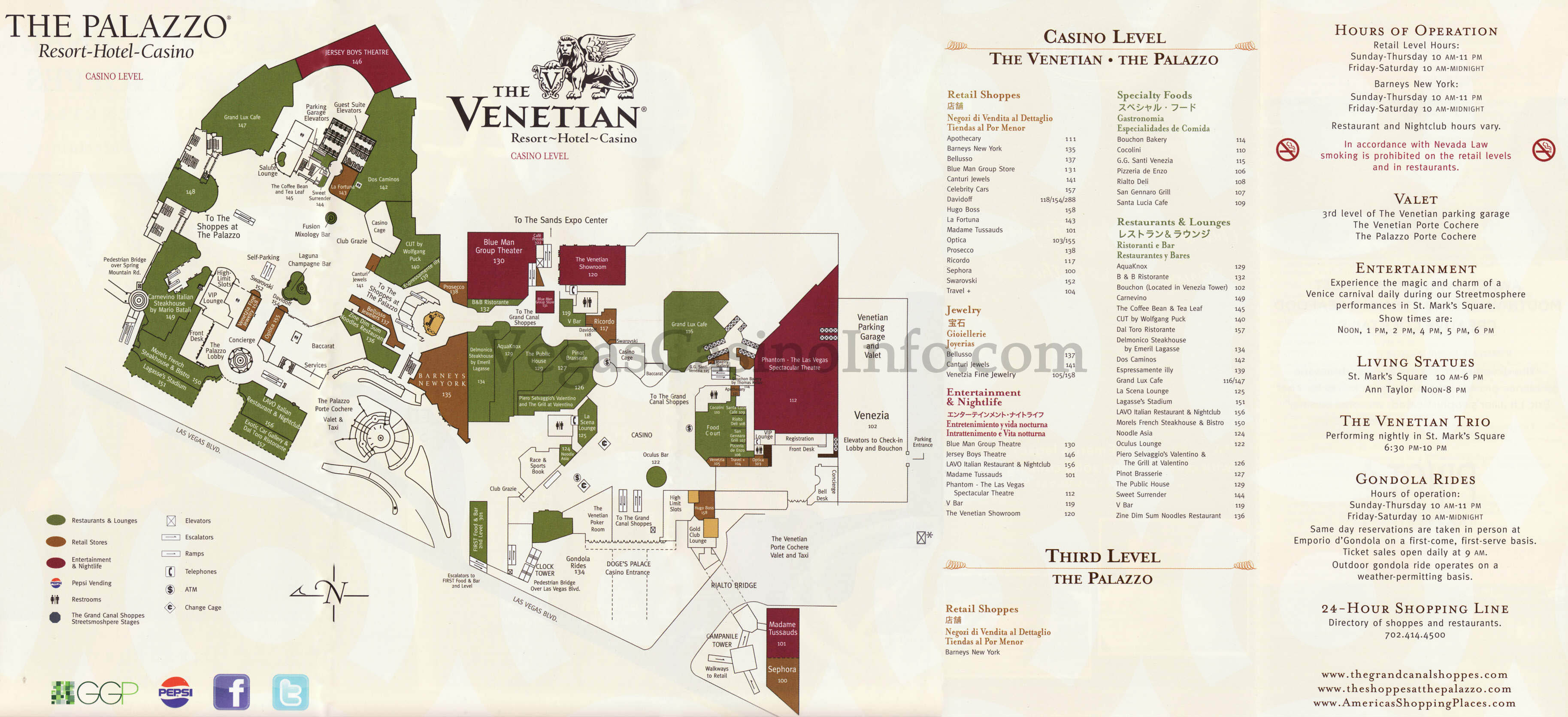 Venetian Hotel Room Floor Plan